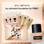 Free shu uemura 9-pc sampling kit